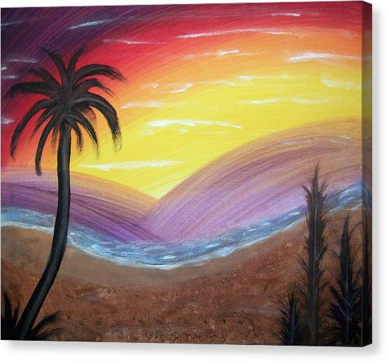 Sunset Escape Canvas Print
