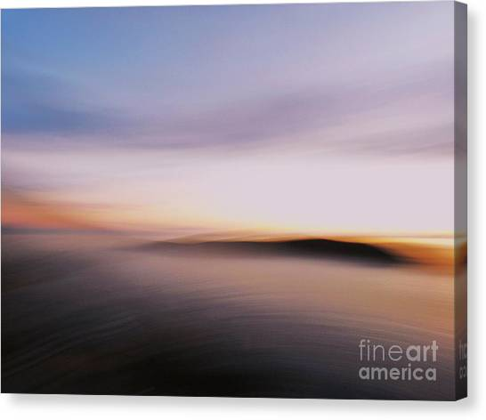 Sunset Island Dreaming Canvas Print