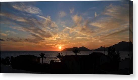 Sunset Canvas Print by Ivelin Donchev