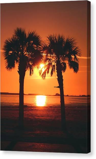 Sunset Canvas Print by Jennifer Burley