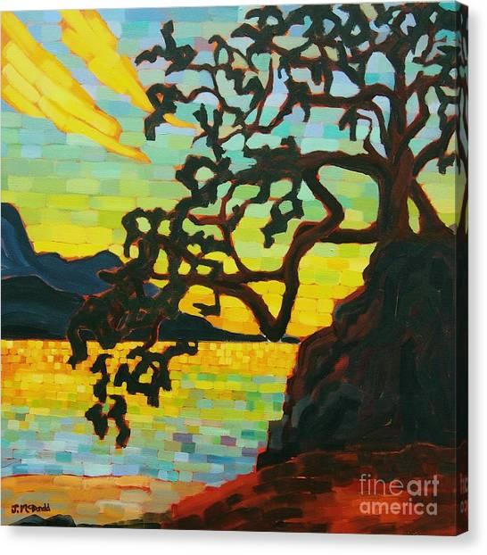 Sunset Mambo Canvas Print