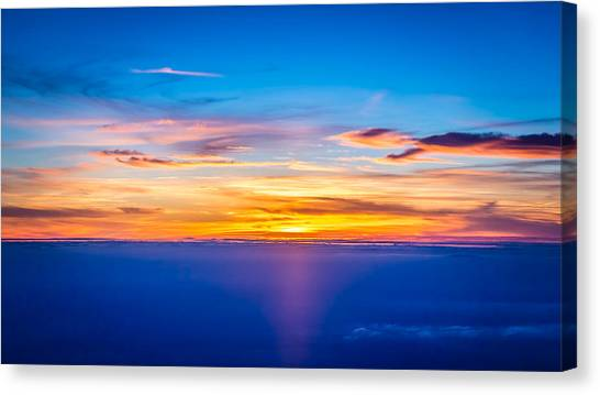 Sunset Canvas Print by Neah Falco