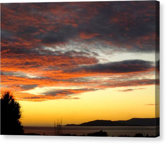 Sunset On Bantry Bay Canvas Print