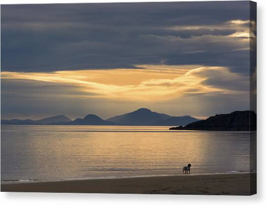 Sunset Over Lewis Canvas Print