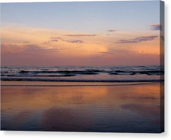 Sunset Over Long Sands Beach II Canvas Print