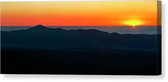 Atacama Desert Canvas Print - Sunset Over Paranal Observatory by Babak Tafreshi