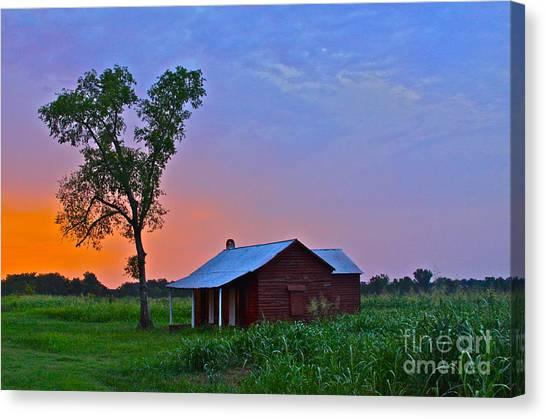 Sunset Over Salma - No.009 Canvas Print