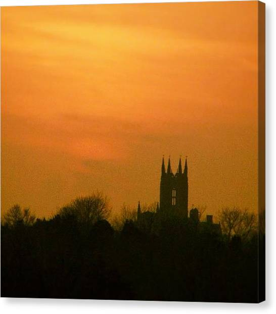 Rhode Island Canvas Print - Sunset Over St Georges by Jason Fourquet