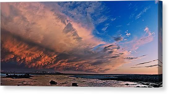 Sunset Panorama Canvas Print