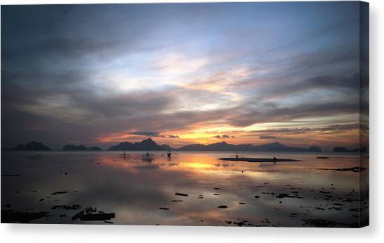 Sunset Philippines Canvas Print