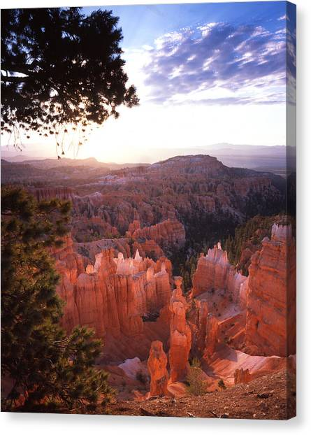 Sunset Point Sunrise Canvas Print