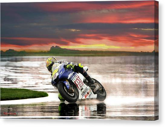 Sunset Rossi Canvas Print