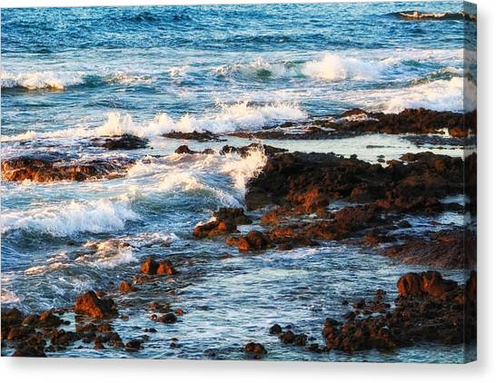 Sunset Shore Canvas Print