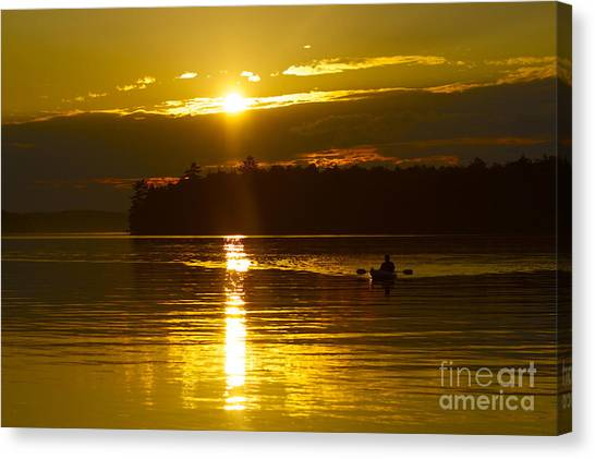 Sunset Solitude II Canvas Print