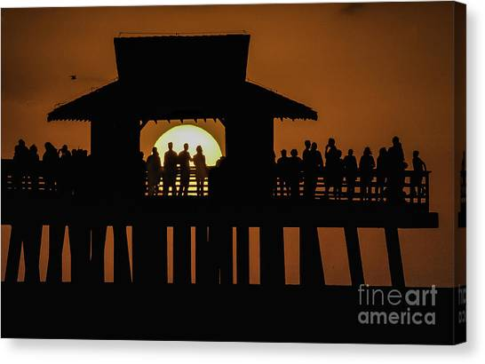 Sunset Supervisors Canvas Print