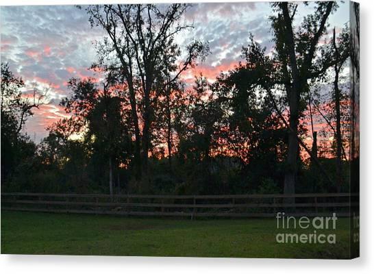 Sunset Texas Canvas Print