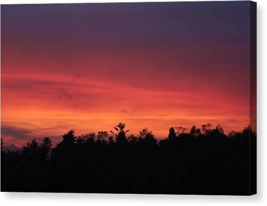 Sunset Tones Canvas Print