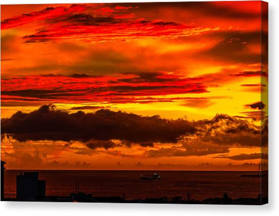 Sunset Wow2 Canvas Print