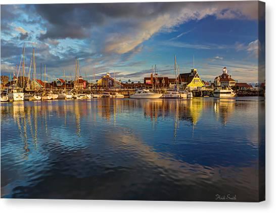 Sunset's Warm Glow Canvas Print