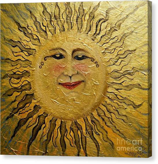 Sunshine 2012 Canvas Print