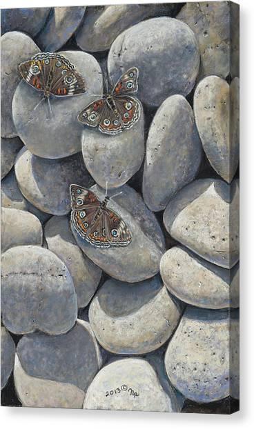 Sunshine And Butterflies Canvas Print
