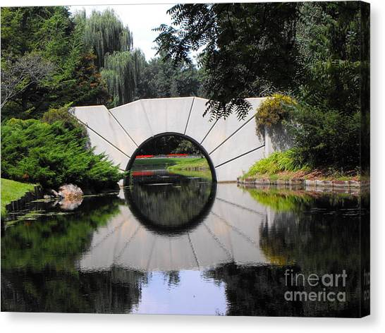 Sunshine Bridge Canvas Print