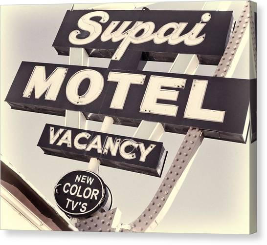 Supai Motel Canvas Print