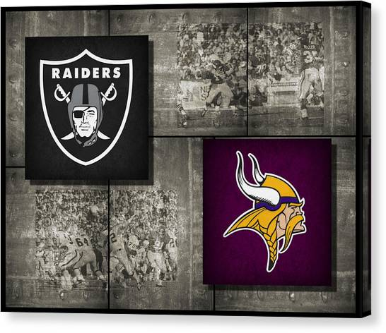 Minnesota Vikings Canvas Print - Super Bowl 11 by Joe Hamilton
