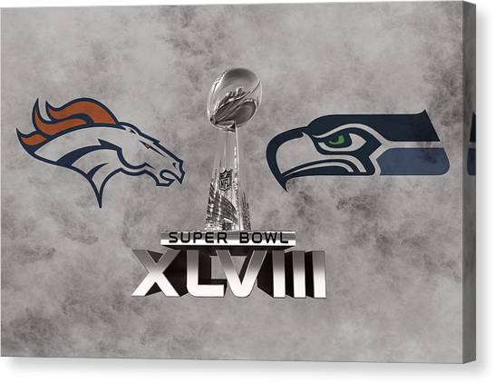 New York Mets Canvas Print - Super Bowl Xlvlll by Joe Hamilton
