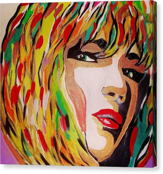Super Mod 13 Canvas Print by Michael Henzel
