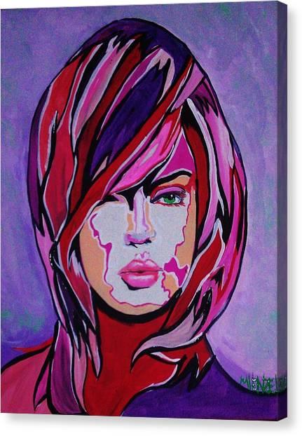 Super Mod 15 Canvas Print by Michael Henzel