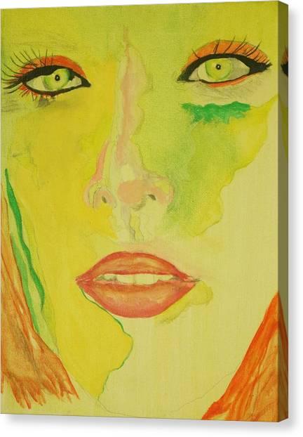 Super Mod 6 Canvas Print by Michael Henzel
