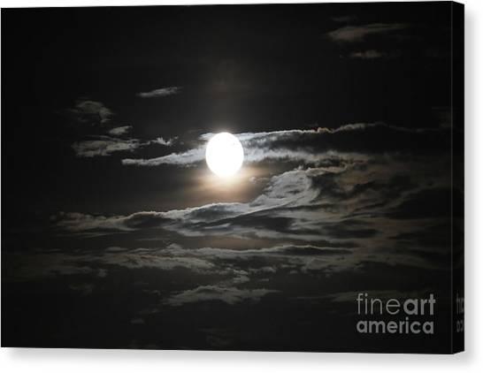 Super Moon 2013 Canvas Print