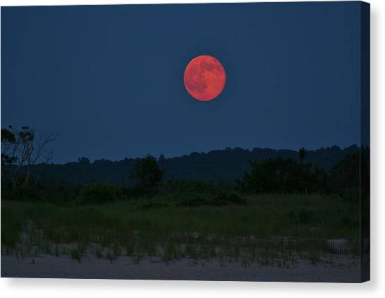 Super Moon July 2014 Canvas Print