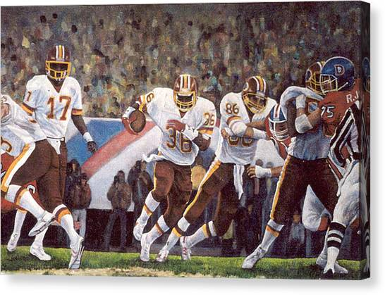 Superbowl Canvas Print - Superbowl Xii by Donna Tucker
