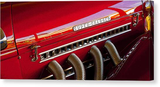 Supercharged Candy Apple Canvas Print