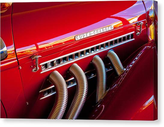 Supercharged Canvas Print