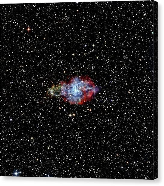 Pulsar Canvas Print - Supernova Remnant by Nasa/cxc/sao