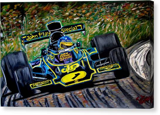 Superswede Canvas Print by Jose Mendez