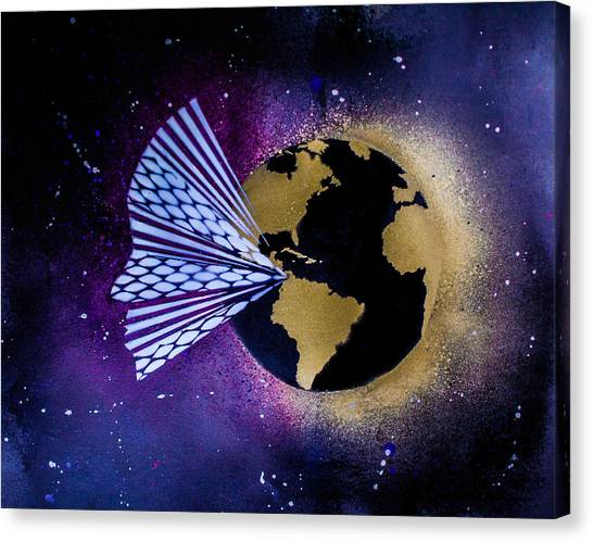Outer Space Canvas Print - Supertramp by Ben Weber