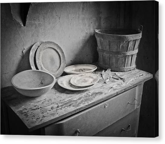 Suppers Gone By 2 Canvas Print by EG Kight