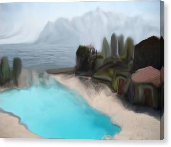 Sur La Mer  C#  72 Canvas Print