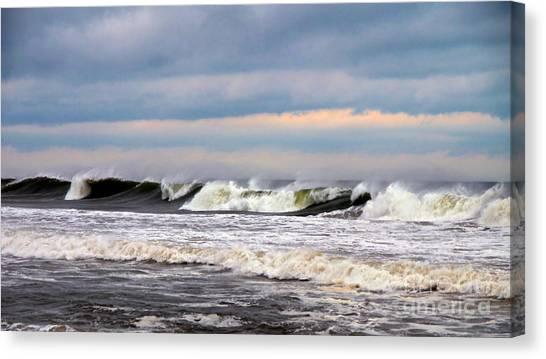 Surf City Surf Canvas Print