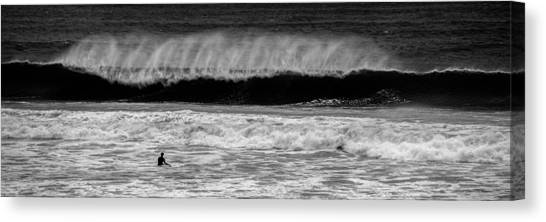 Bodyboard Canvas Print - Surf Dude by Nigel R Bell