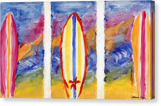 Surfboards 1 Canvas Print