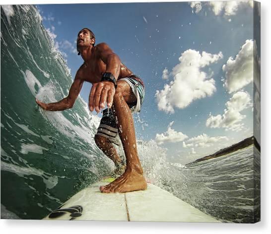 Israeli Canvas Print - Surfer by Assaf Gavra