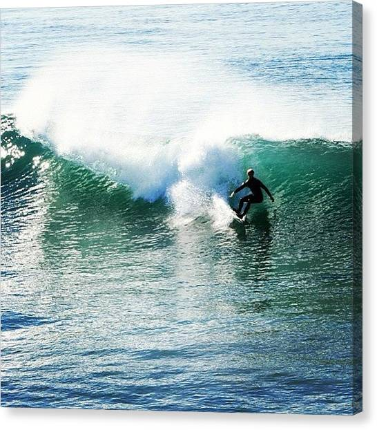 Surfing Canvas Print - Surfer by Go Inspire Beauty