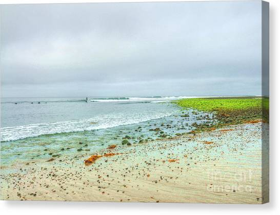 Surfrider Lawn Canvas Print