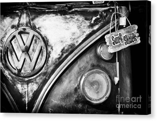 Front End Canvas Print - Surfs Up by Tim Gainey