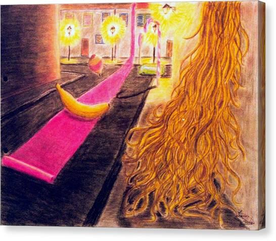 Surreal Alley Canvas Print